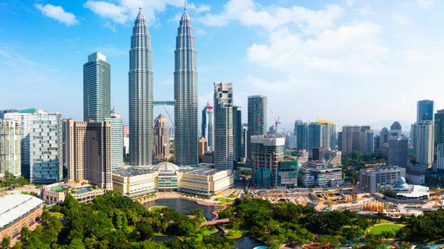 マレーシアの街